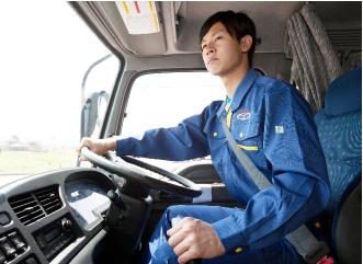 飛越運送 職種紹介:ドライバー
