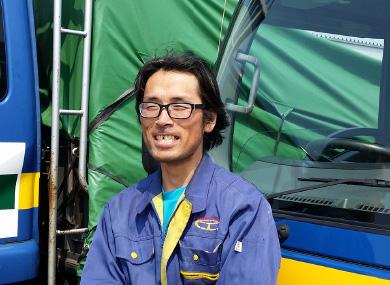 飛越運送:3トン地場担当 浅田 靖夫